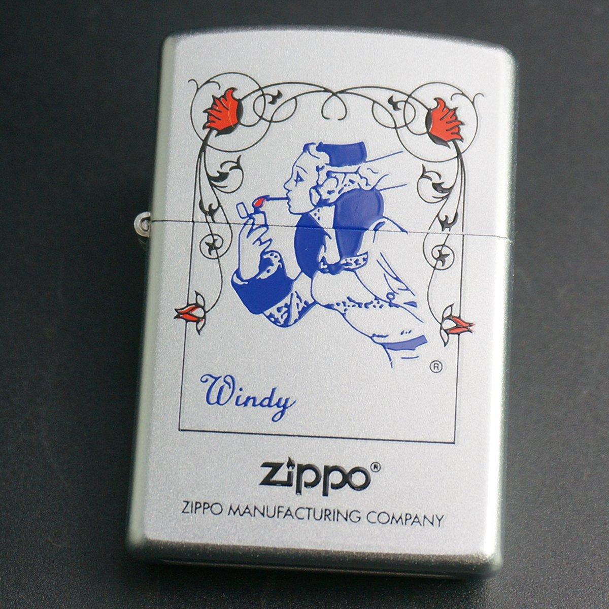 zippo WINDY プリント #205 2001年製造 B06XW3YSWH
