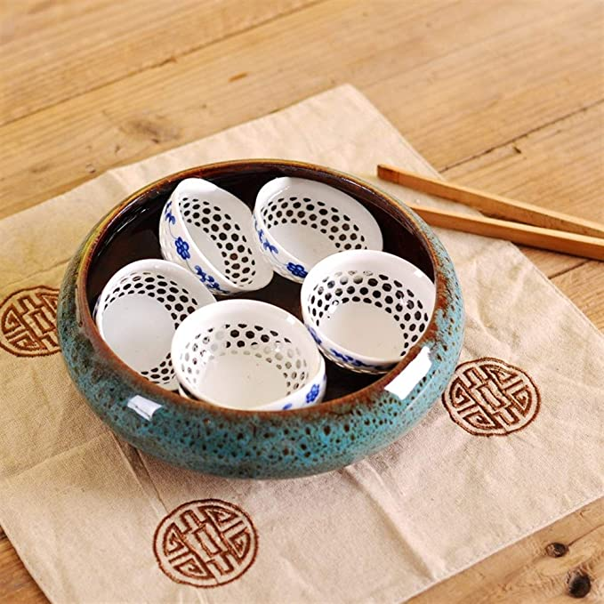 Amazon.com: Haoyushangmao Creative Sleeping Bowl Lotus Money ...