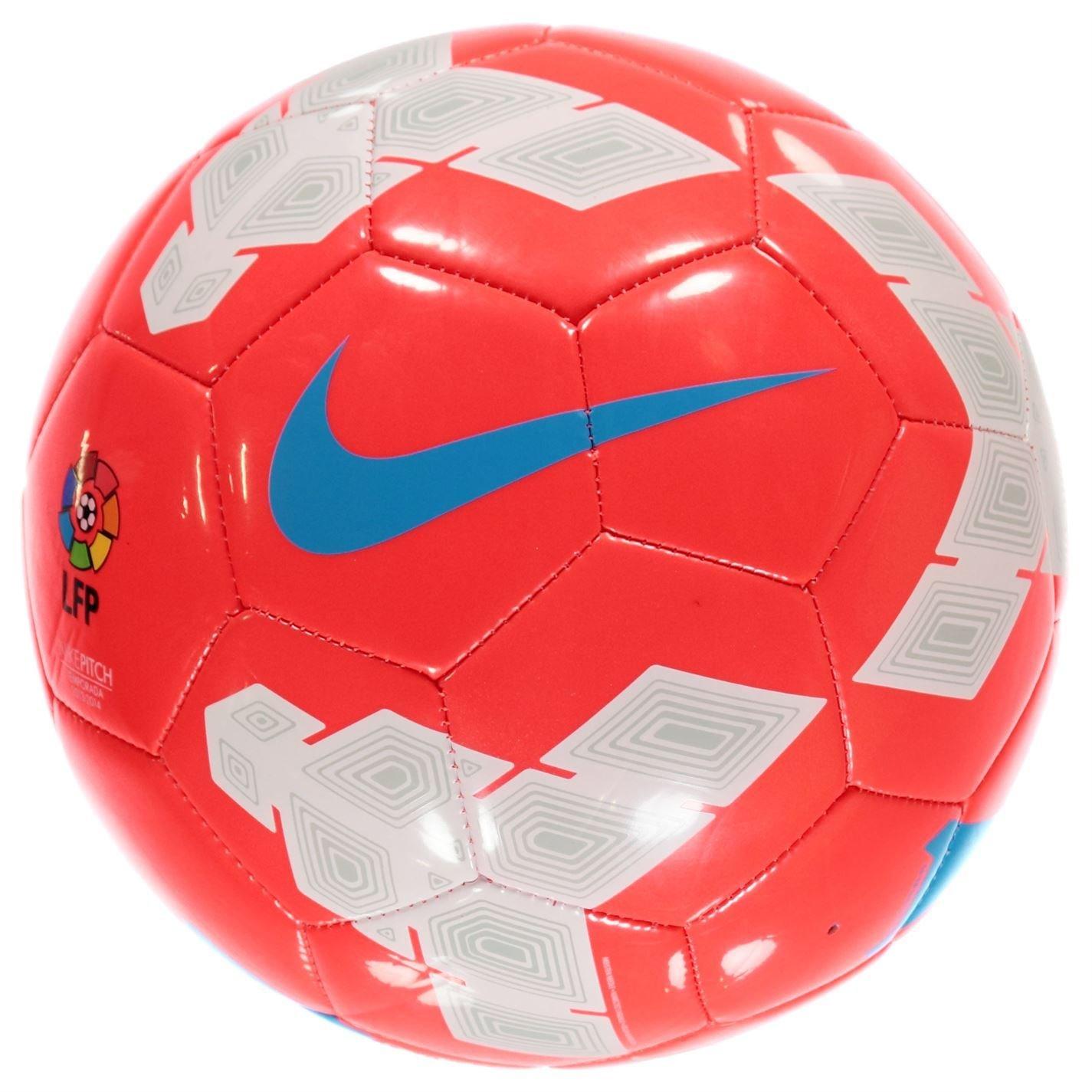 Nike Pitch LFP – Balón de fútbol de la Liga 2013 2014 rojo/blanco ...