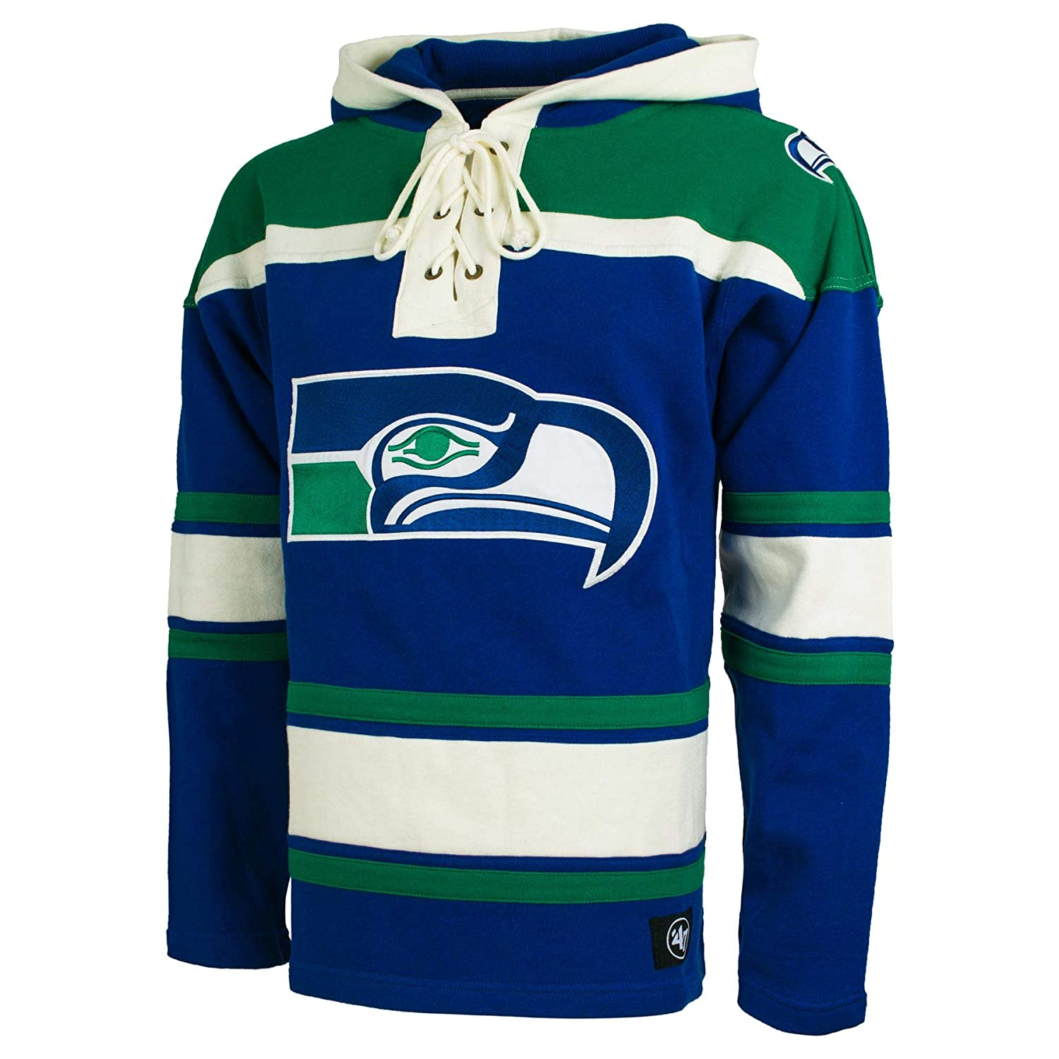half off acdcb 34d3d Seattle Seahawks NFL '47 Heavyweight Jersey Lacer Hoodie ...