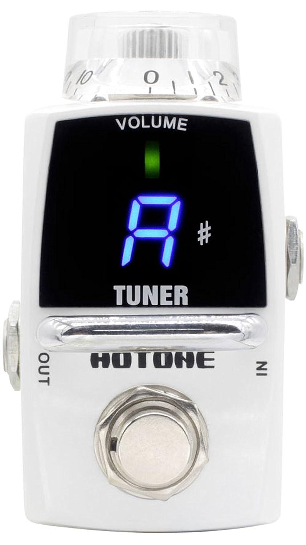 Hotone Smart Tiny Tuner LED Guitar Pedal Tuner STU-1