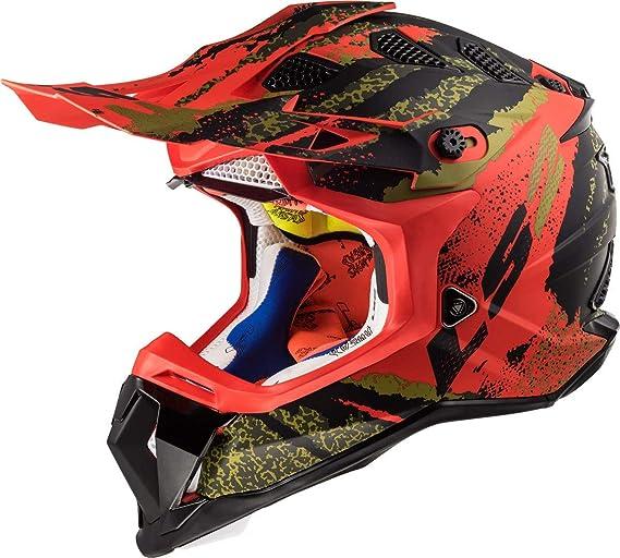 LS2 Motorcycle Helmet L Mens Womens Black 569-1001
