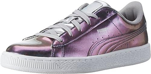 Puma Basket Classic Holo Jr, Sneakers Basses Mixte Enfant
