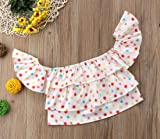 2017 Baby Girls Off Shoulder Boho Print Floral