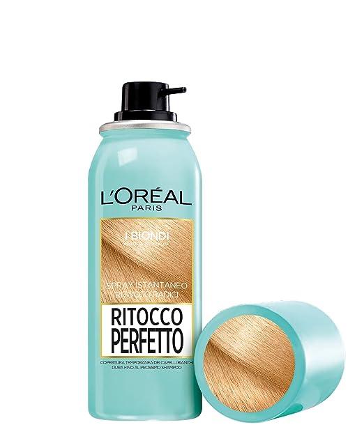 264 opinioni per L'Oréal Paris Ritocco Perfetto Spray Istantaneo Ritocco Radici, 5 Biondo