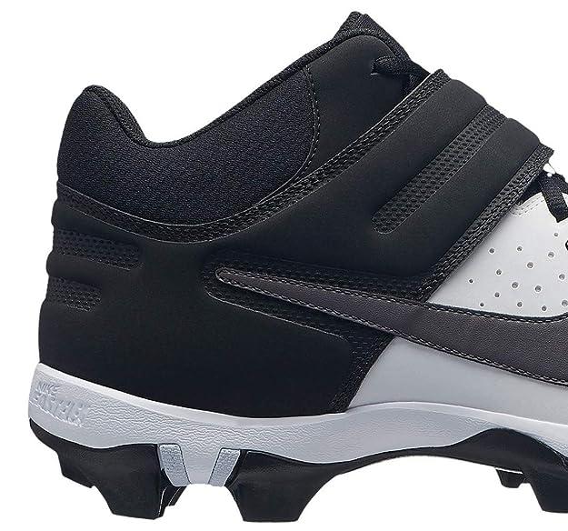 Amazon.com | Nike Mens Alpha Huarache Varsity Keystone Mid Baseball Cleats | Basketball
