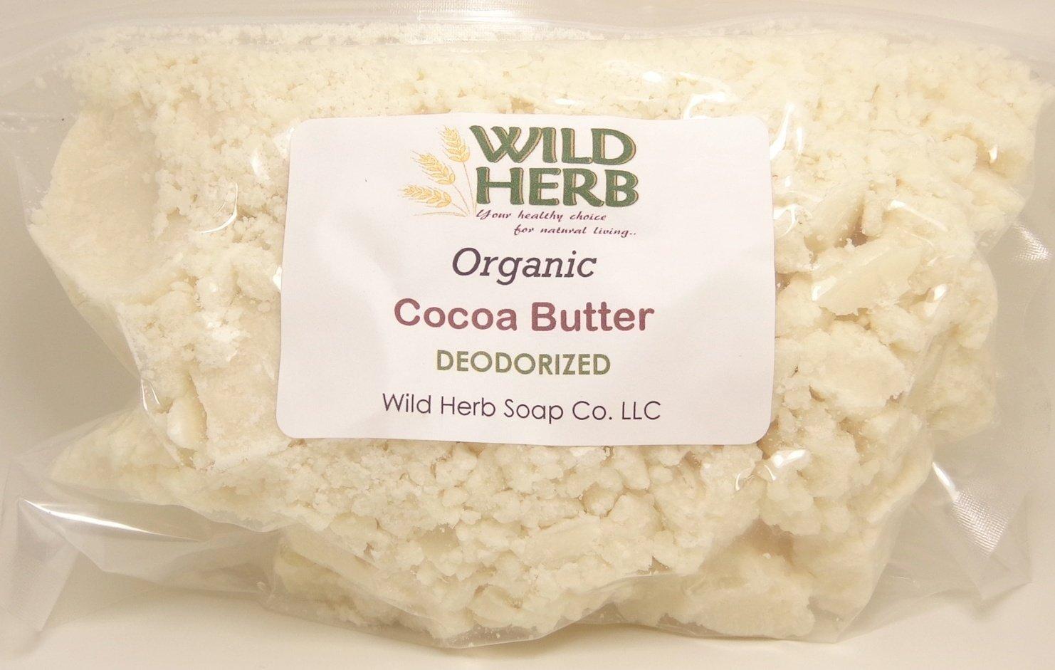 Deodorized Cocoa Butter Organic (15 lbs)
