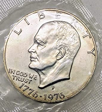 1976 S Proof Silver Eisenhower Dollar From Sealed Set Great Detail Choice Proof~