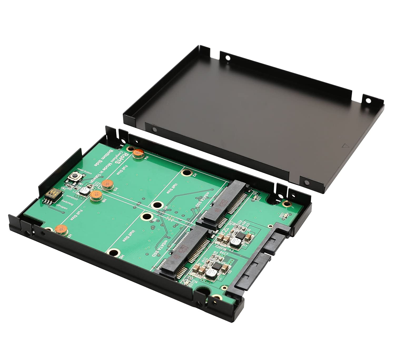 """mSATA SSD to 2.5/"""" SATA Convertor Adapter Card S1#"""
