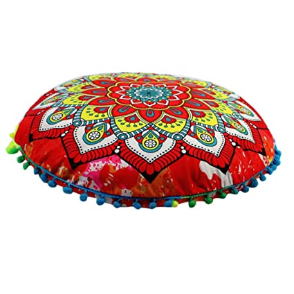 Amazon.com: Funda de almohada cover, elaco Indian Mandala ...
