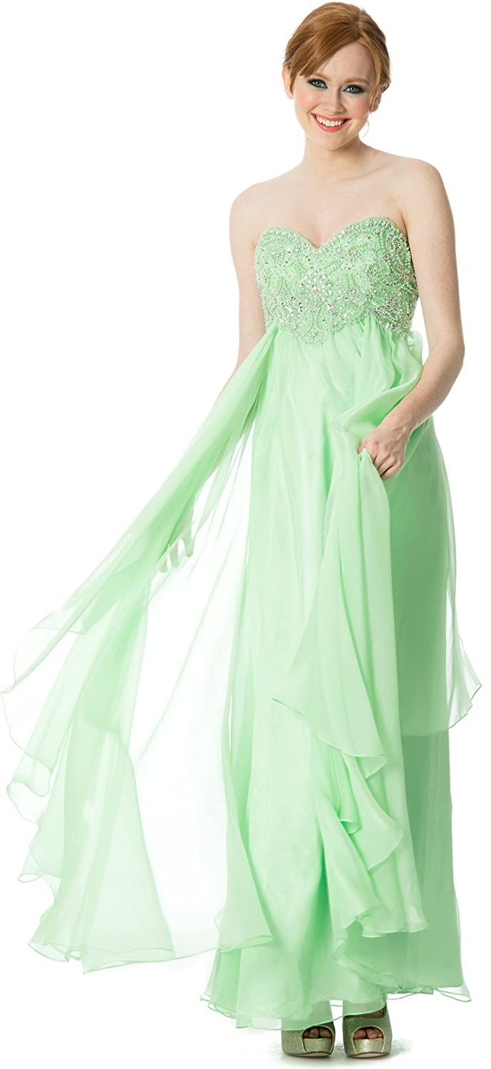 Sweetheart Evening Gown Prom Long Dress ADY