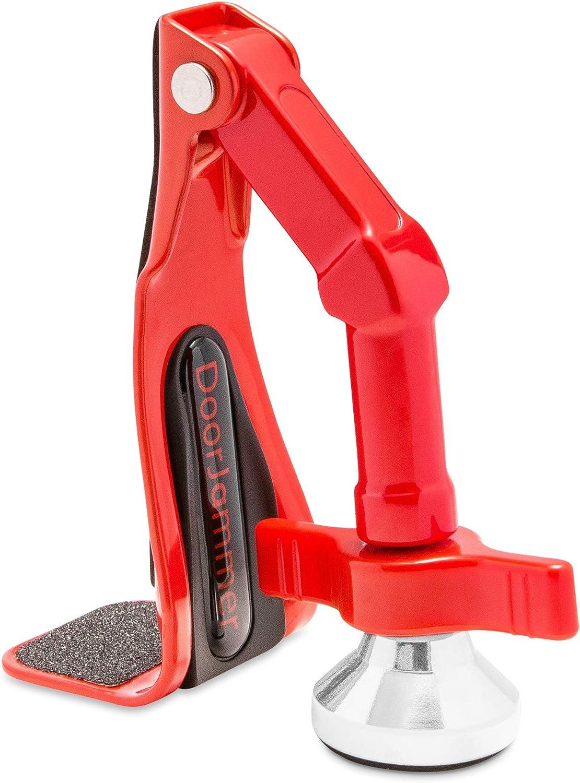 DoorJammer - Soporte portátil de bloqueo de puerta para seguridad en el hogar y protección personal