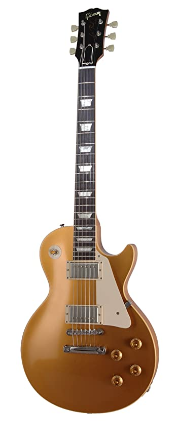fbbe468dae Amazon.com  Gibson 1957 Les Paul Goldtop VOS Electric Guitar ...