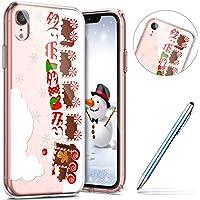 Kerstmis hoesje, Kerstman, van TPU, flexibel, voor Kerstmis iPhone XR Natale # 10, Iphone Xr
