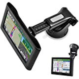 GPS Suction Cup Mount for Garmin [Quick Extension Arm], Replacement GPS Dash Ball Mount Dashboard Windshield Car Holder…