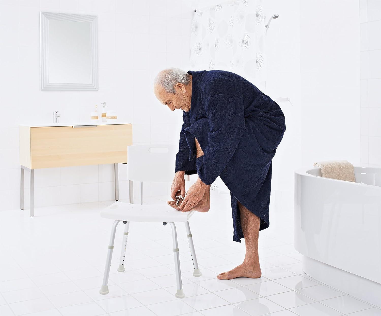 Ridder a00601101 sgabello da bagno: amazon.it: casa e cucina