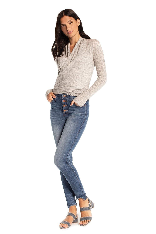 Heather Grey Synergy Organic Clothing Metamorphose Cardigan