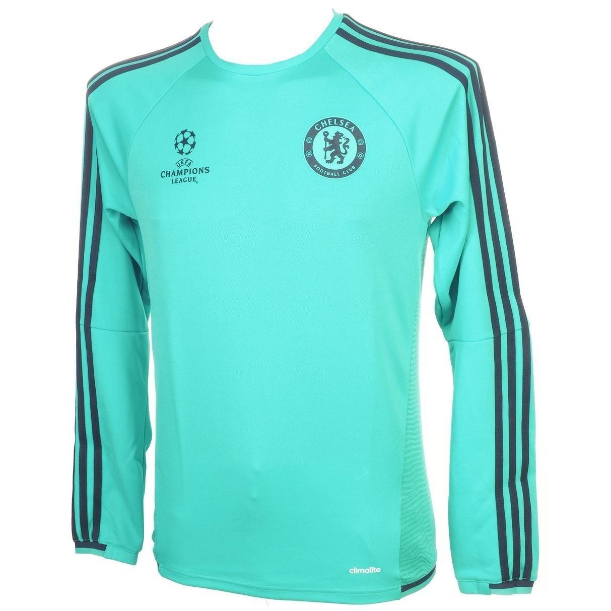 2015 2016 Chelsea Adidas EU Training Top (Vivid Mint