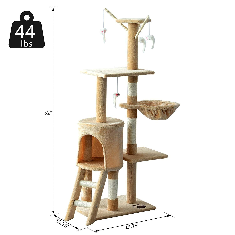 Amazon.com: MISC - Mueble para mascota, diseño de gato ...