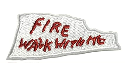 Amazon com: FIRE Walk with ME Embroidered Iron on or Sew On
