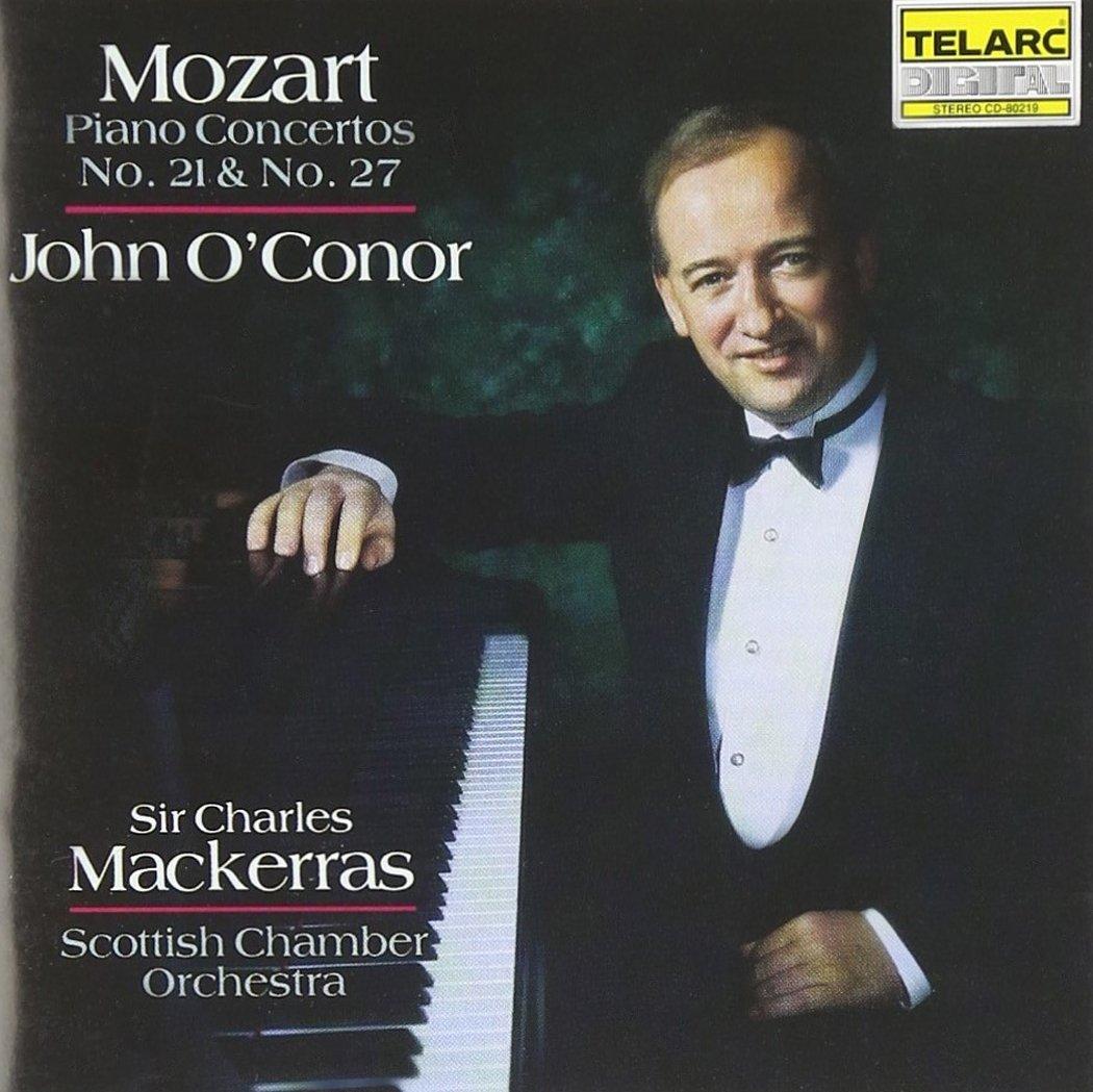 CD : John O'Conor - Piano Concertos 21 & 27 (CD)