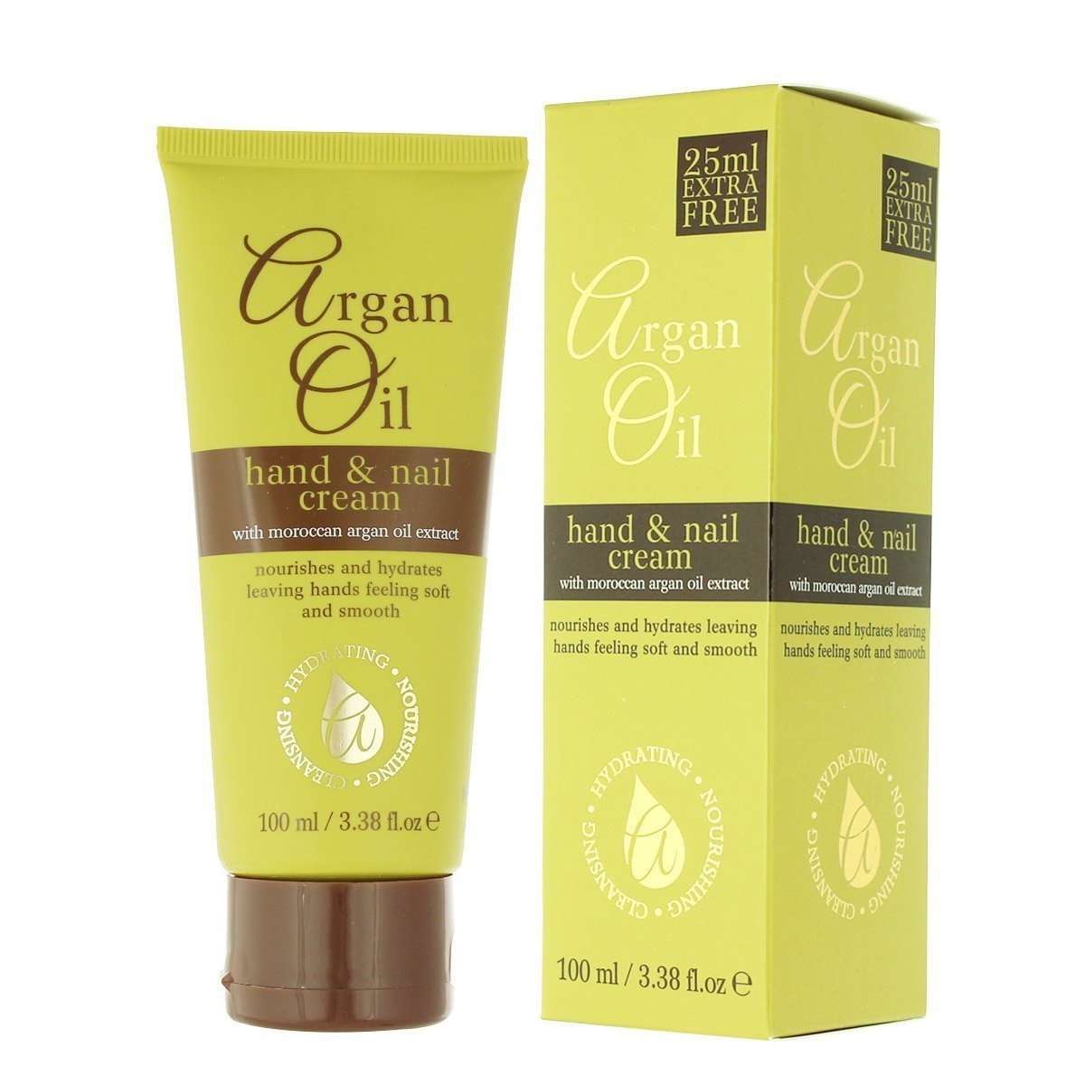 Xpel Argan Oil Hand and Nail Cream 3 Pack