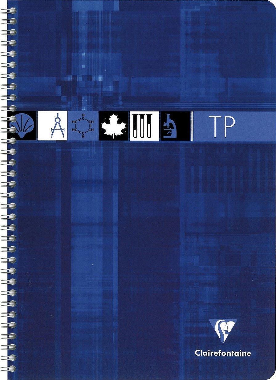 Clairefontaine–Quaderno di lavoro pratica A4 colore casuale 8937C