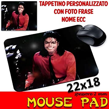 csm Informatica Alfombrilla de ratón Pad Michael Jackson Personalizable Photo: Amazon.es: Hogar