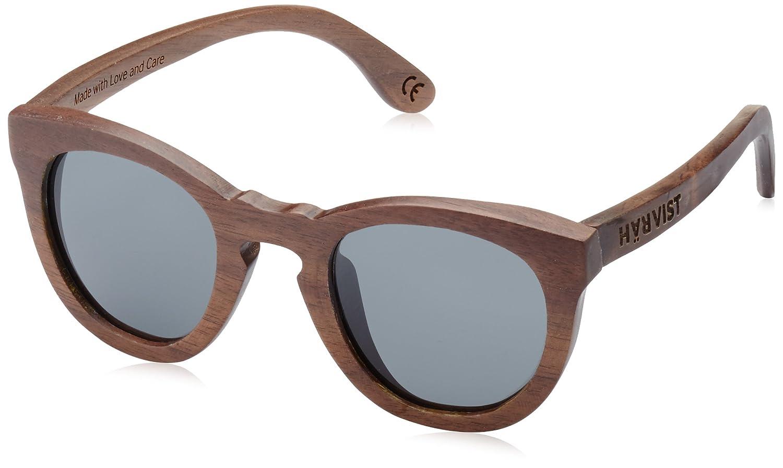 TALLA Talla única. HÄRVIST, Roundwood - Gafas de sol de madera, unisex, color nogal