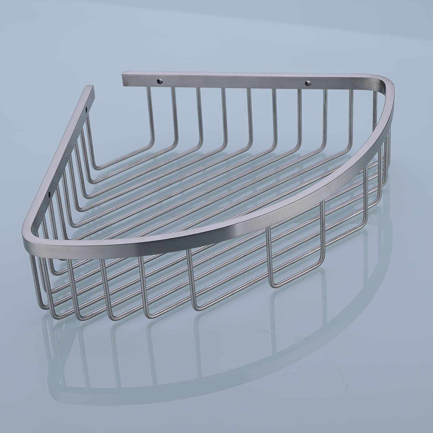 Amazon.com: 304 Stainless Steel Shower Caddy Corner Basket Shelf ...