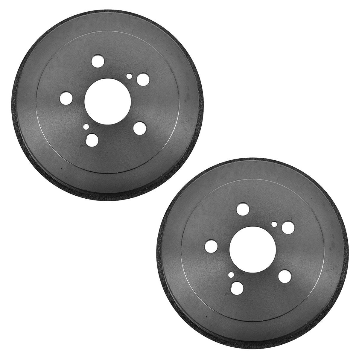 Brake Drum Rear Left LH /& Right RH Pair for Toyota Celica Corolla Prius