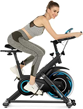 Simpfree 49Lbs Indoor Stationary Exercise Bike