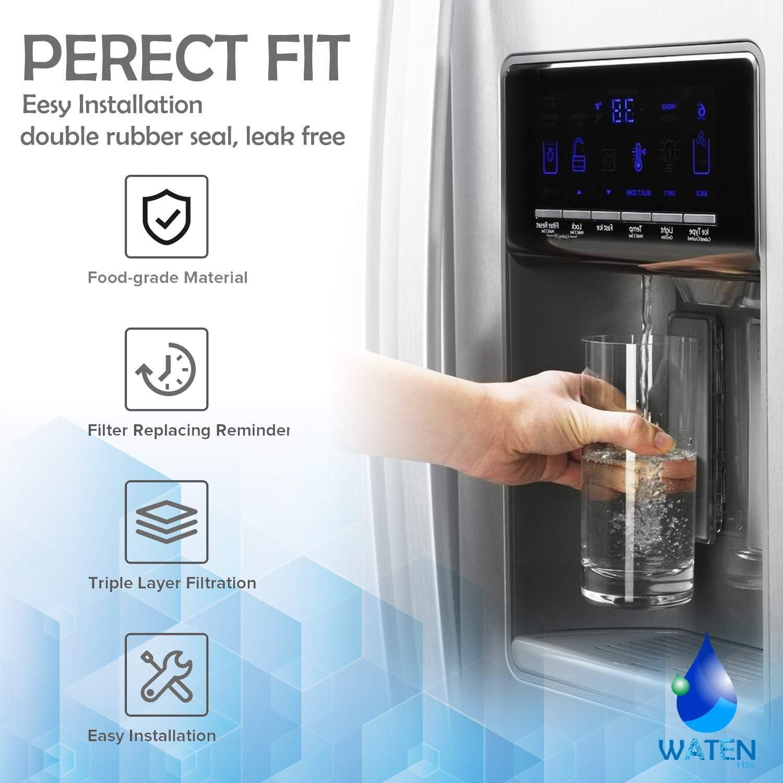 WATEN H2o W10295370A W10295370 Water Filter Cap Replacement ...