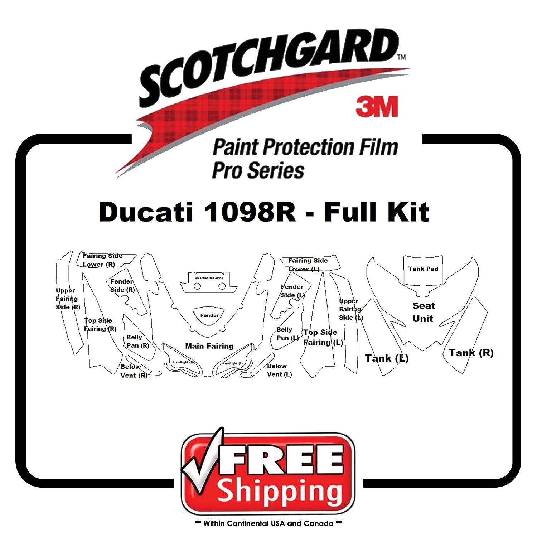 キットfor Ducati 1098r 2008 – 2009 – 3 M 948 PROシリーズ – ペイント保護   B073W4QNMG