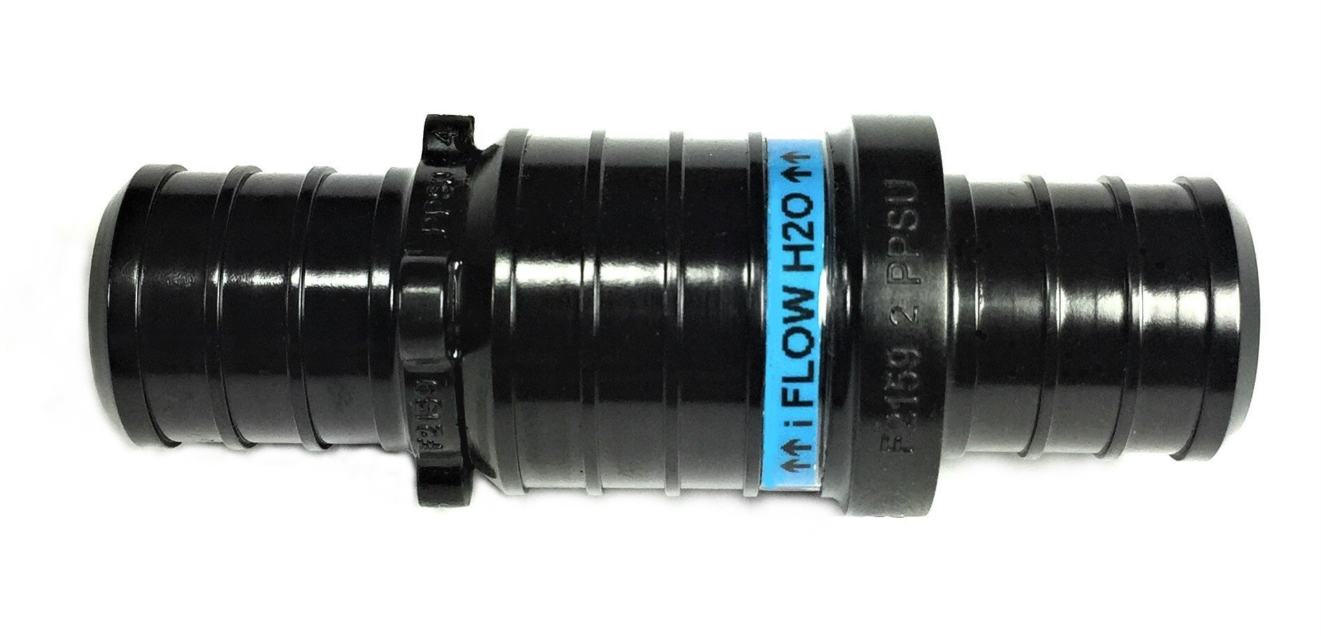 "i Flow H2O Check Valve 3/4""Inch,Barbed Plastic,Pex Tubing,Spa pump,Fish Aquarium Filter Pump,Boat Marine Bilge Pump,Hydroponics Grow,Anti-Back Flow,RV,Hydronic Heating,Actual Barb Size(OD)-22/32''inch by i Flow H2O (Image #1)"