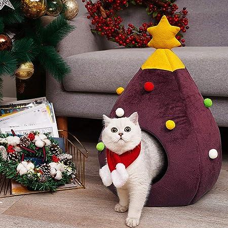 Factorys Casa del Gato del árbol de Navidad Tienda del Gato Medio ...