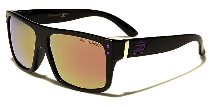 Nuevo Dxtreme Polarizada Deporte Rectangular Clásico Gafas de Sol Hombres Mujeres Unisex con Revo Lentes &