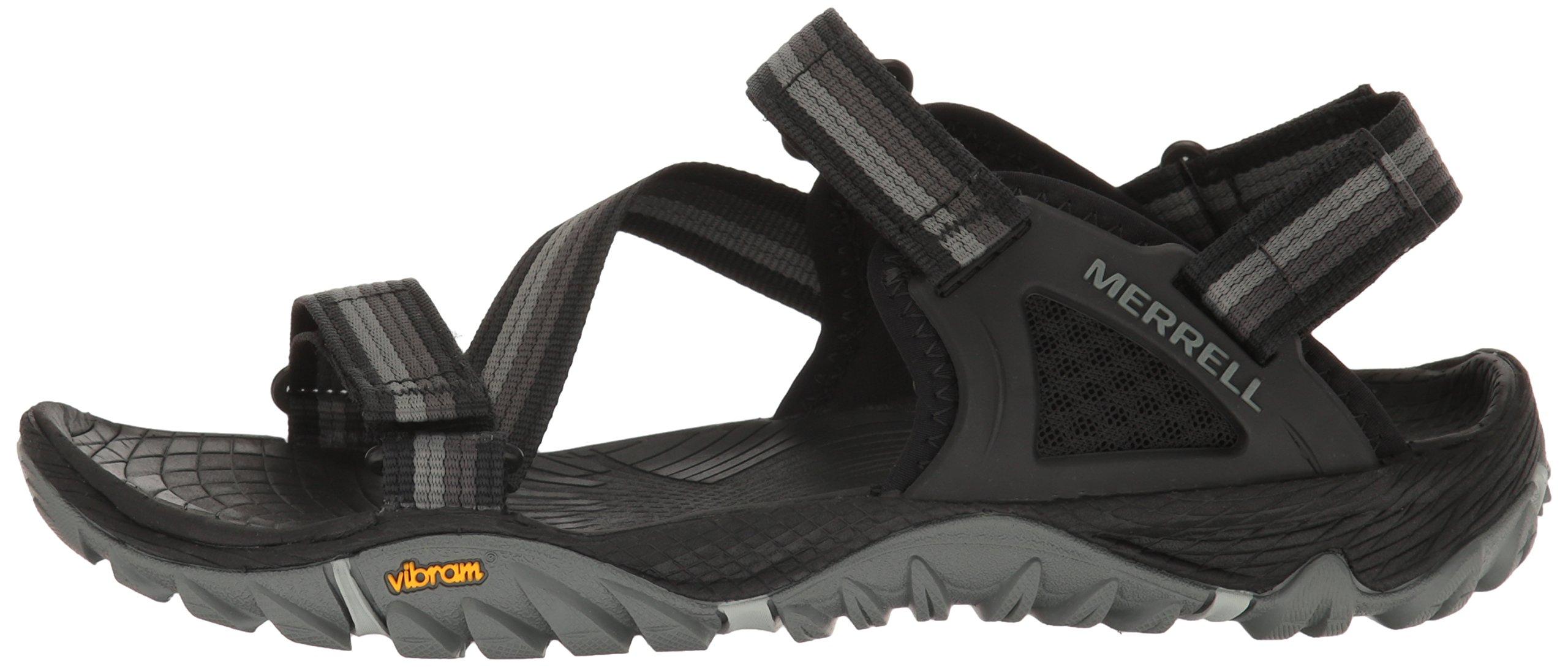 Merrell Women's All Out Blaze Web Sandal, Black, 9 M US by Merrell (Image #5)