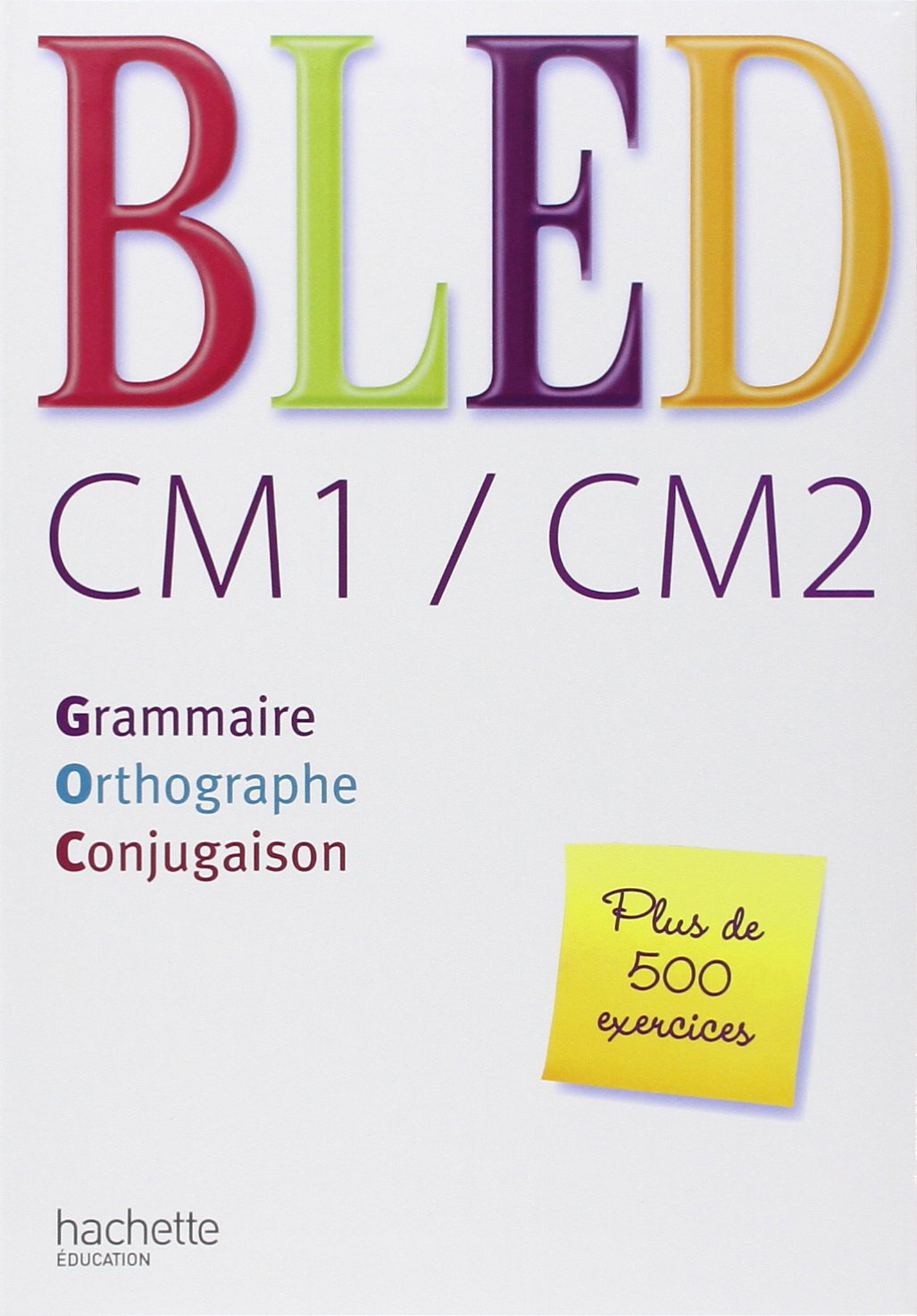 Amazon Fr Bled Cm1 Cm2 Grammaire Orthographe