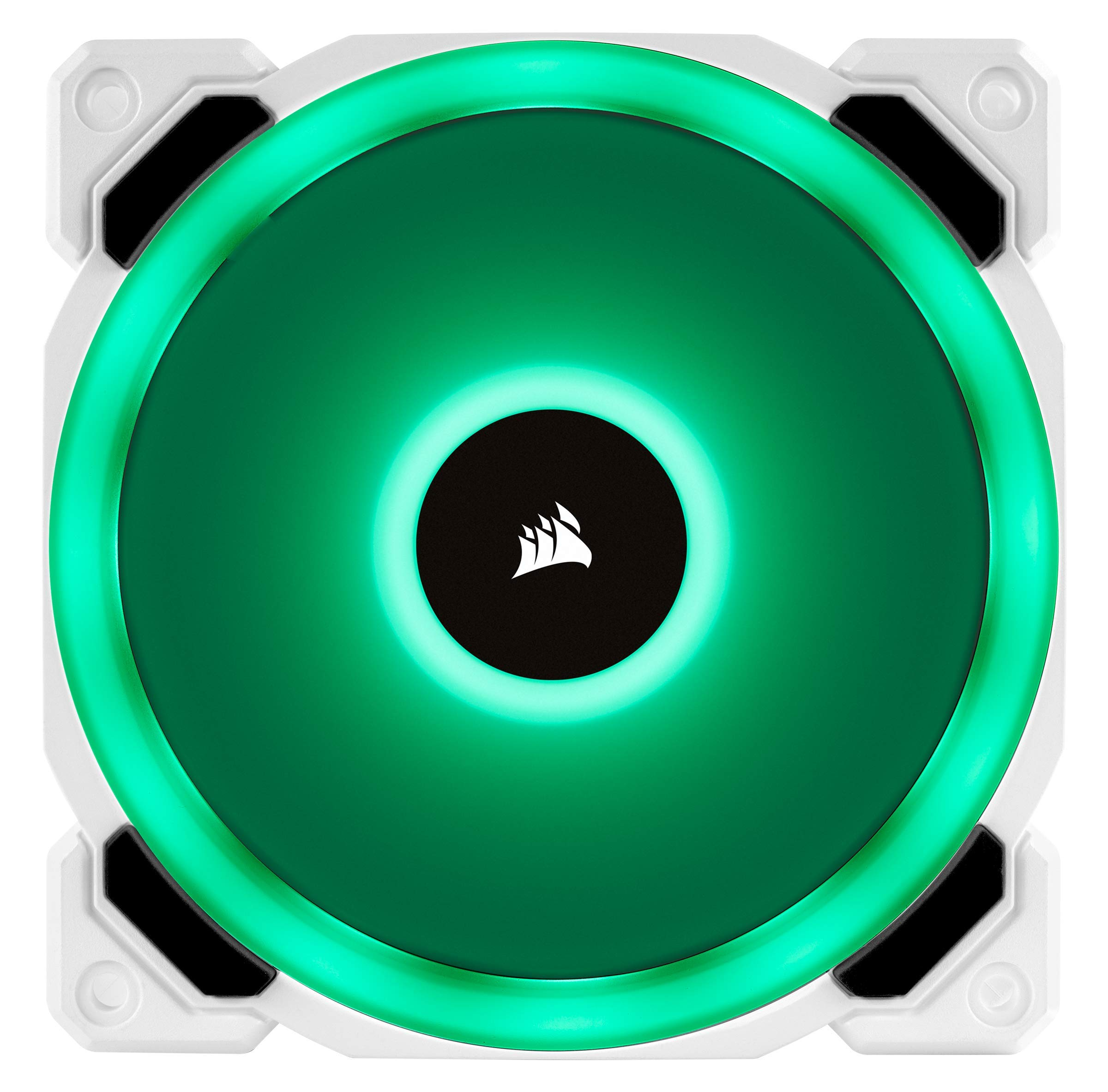 CORSAIR LL Series, LL120 RGB, 120mm RGB LED Fan, Triple Pack with Lighting Node PRO- White by Corsair (Image #9)