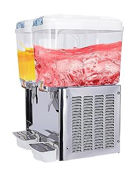 SUNCOO® - Dispensador de bebidas frías y frutas, 2 tanques: Amazon.es: Hogar