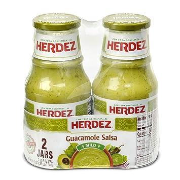 Herdez Guacamole Salsa, Mild (23.6 oz, 2 ct.)