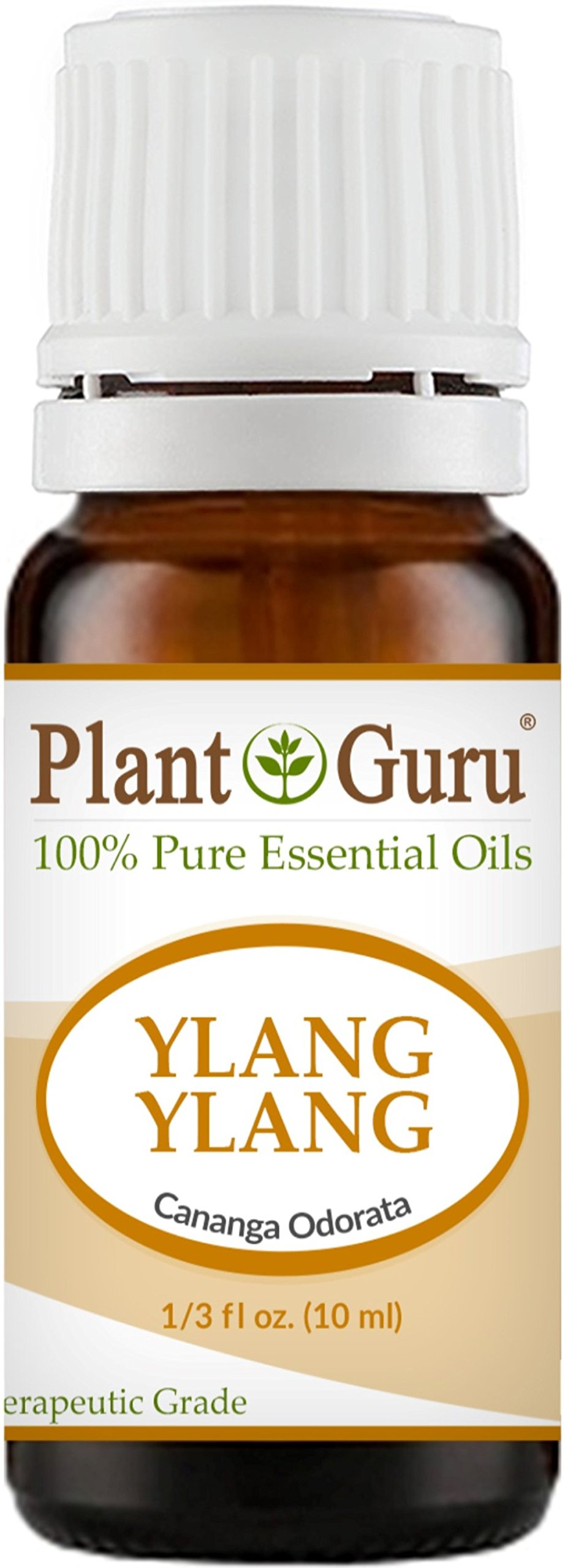 Ylang Ylang Essential Oil 10 ml. 100% Pure Undiluted Therapeutic Grade.