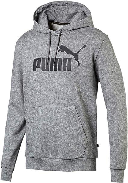 PUMA Herren ESS Hoody TR Big Logo Sweatshirt: