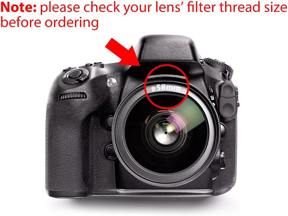 Lightdow 67MM UV+CPL+FLD 3 in 1 Lens Filter Set with Bag for Canon Nikon Sony Pentax Camera Lens