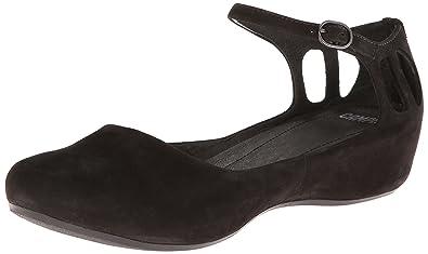 Camper Women's Sinuosastrap Ballet Flat, Black, ...