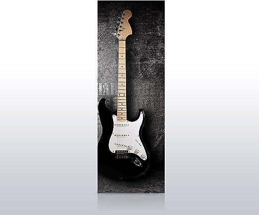 wandmotiv24 Papel Pintado para Puerta Guitarra eléctrica 70 x 200 ...