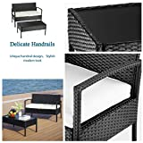 PAMAPIC 2 Piece Patio Furniture Sets, All-Weather