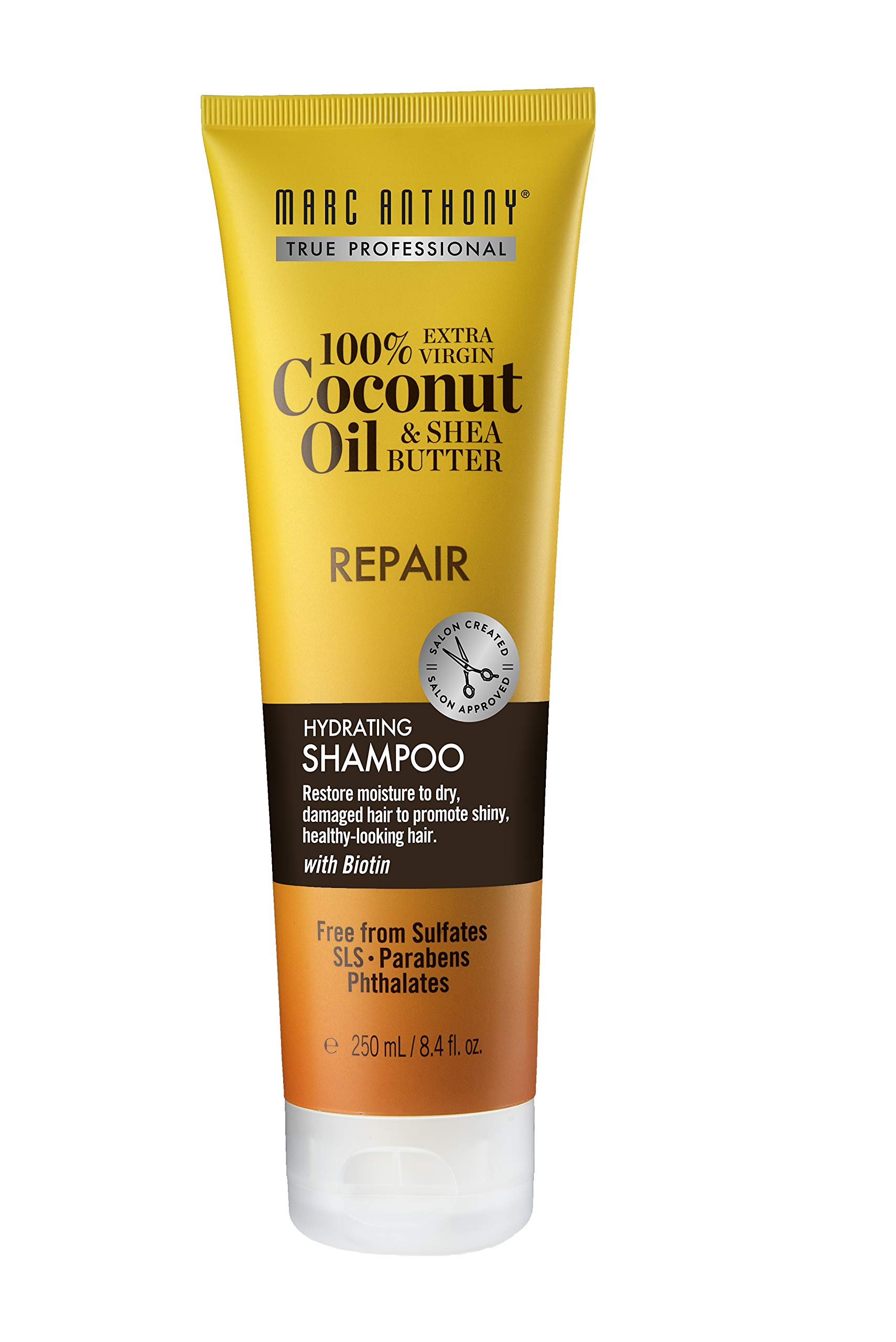 Marc Anthony Coconut Oil & Shea Butter Hydrating Shampoo, 8.4 Ounces