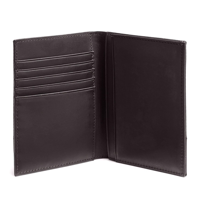 Jack Spade Waxwear Passport Wallet, Chocolate